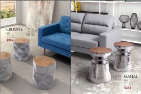 CRUMPLE & MAHAL STOOL by Zuo