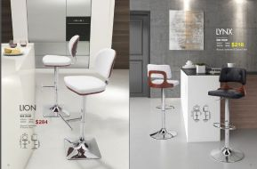 LION & LYNX BAR CHAIRS by Zuo