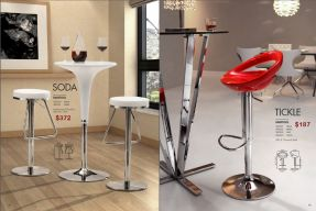 SODA & TICKLE BARSTOOLS by Zuo