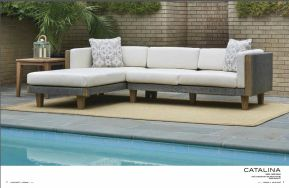 CATALINA Sectional by Lloyd Flanders 2017