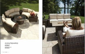 CONTEMPO Sectional (Oval) & Sofas by Lloyd Flanders 2017