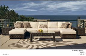 CONTEMPO Sectional by Lloyd Flanders 2017