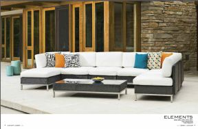 ELEMENTS Sectional by Lloyd Flanders 2017