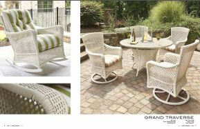 GRAND TRAVERSE Rocking & Swivel Dining Chairs by Lloyd Flanders 2017