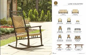 LOW COUNTRY Porch Rocker & Collection by Lloyd Flanders 2017