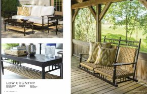 LOW COUNTRY Sofa l Porch Swing by Lloyd Flanders 2017