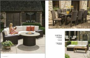 MESA Sectional & Dining by Lloyd Flanders 2017
