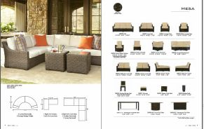 MESA Sectional & Collection by Lloyd Flanders 2017