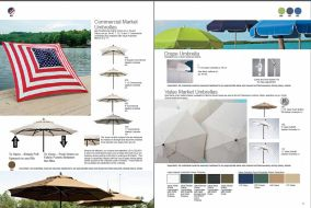 Commercial, Drape & Market Umbrellas by Telescope 2017