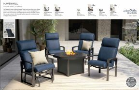 HAVENHILL Cushion Dining l Alu by Homecrest 2017