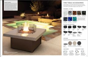 FIRE TABLE Accessories by Homecrest 2017