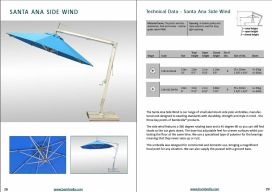 SANTA ANNA SIDE WIND ALUMINUM by Bambrella 2016