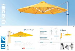 ECLIPSE Commercial Cantilever Series by Frankford Umbrellas 2017