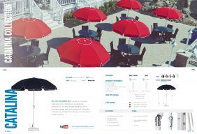 CATALINA Fiberglass Patio Series by Frankford Umbrellas 2017