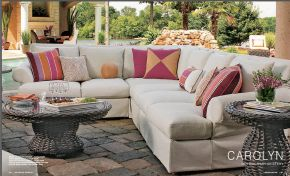 CAROLYN l UPH (1) Sectional by Lane Venture 2017