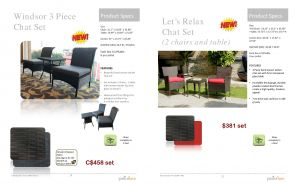 LET's RELAX & WINDSOR 3pc Chat Set 2017