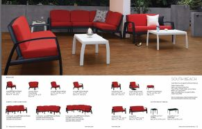 SOUTH BEACH Seating by Tropitone 2016-18