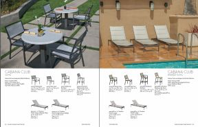 CABANA CLUB Sling Seating by Tropitone 2016-18