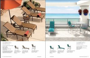 SORRENTO Sling Seating by Tropitone 2016-18
