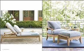 AURA l Teak Armchair & Lounger by Lane Venture 2017