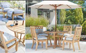 AURA l Teak Dining by Lane Venture