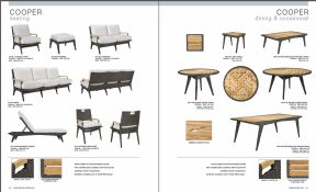 COOPER Teak l Dining & Occasional Seating by Lane Venture 2017