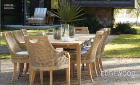 EDGEWOOD l Teak Dining by Lane Venture 2017