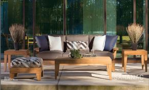 SARANAC l TEAK (1) Sofa by Lane Venture 2017