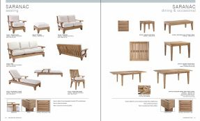 SARANAC l TEAK (5) Dining & Occasional Seating by Lane Venture 2017