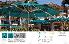 PORTOFINO (Aluminum) Umbrella by Tropitone 2016-18