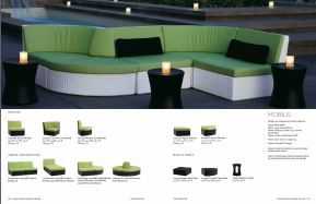 MOBILUS Sectional & Daybeds by Tropitone 2016-18