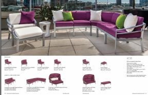 KOR Aluminum Sectional by Tropitone 2016-18