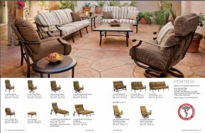 MONTREUX Seating (ACA Endorsed) by Tropitone 2016-18