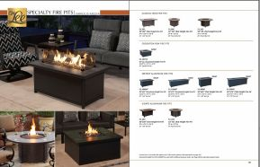 SPECIALTY FIRE PITS by O.W. Lee 2017