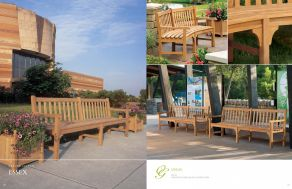 ESSEX (Shorea) Benches by Oxford Garden 2017