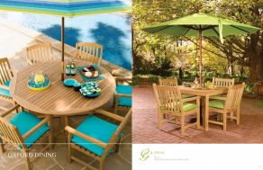 OXFORD DINING (Shorea) Lifestyles  by Oxford Garden 2017