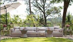 VENTI  7-Seat Sofa (NEW for 2017) by Summer Classics