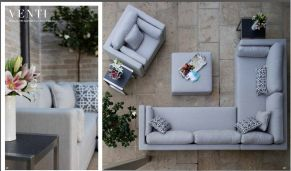 VENTI Sectional  (NEW for 2017) by Summer Classics 2017
