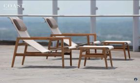 COAST (Teak) Chaises by Summer Classics 2017
