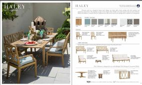 HALEY (Teak) Collection (NEW for 2017) by Summer Classics