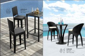 ANGUILLA & CORONA Bar Chairs by ZUO VIVE 2017