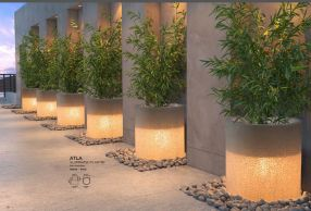 ATLA Illuminated Planter by ZUO VIVE 2017