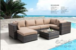 BOCAGRANDE Sectional & Ottoman by ZUO VIVE 2017