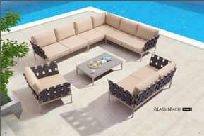 GLASS BEACH Modular Sectional (Combo A) by ZUO VIVE 2017