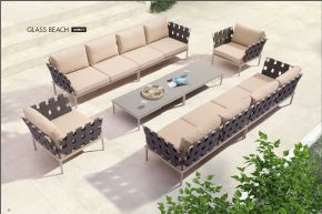 GLASS BEACH Modular Sectional (Combo B) by ZUO VIVE 2017