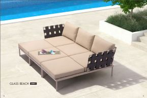 GLASS BEACH Modular Sectional (Combo C) by ZUO VIVE 2017