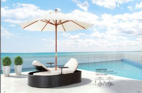 HAMPTON Double Chaise Lounge by ZUO VIVE 2017