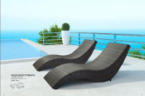 HASSLEHOLTZ BEACH Chaise Lounge by ZUO VIVE 2017
