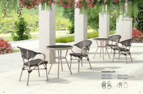 MARSELLES Dining Chair & Bistro Table by ZUO VIVE 2017