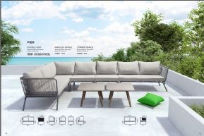 PIER Sectional by ZUO VIVE 2017